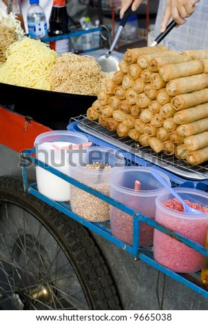 Bangkok Food Vendor