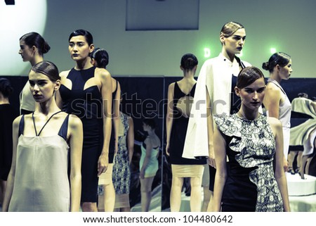 June's Designer Clothes Collection BANGKOK JUNE Models wear