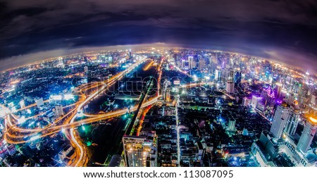 Bangkok night, Thailand