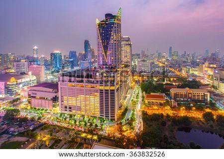 Bangkok Shopping Mall. Zdjęcia stock ©