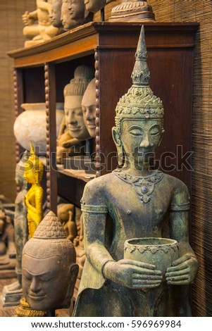 Sculpture Architecture And Symbols Of Buddhism Thailand South