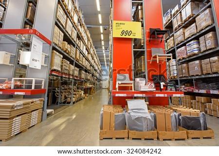 Bangkok Thailand September 26 2015 Ikea Furniture