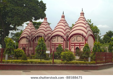Bangladesh, Dhakeswari Temple in Dhaka