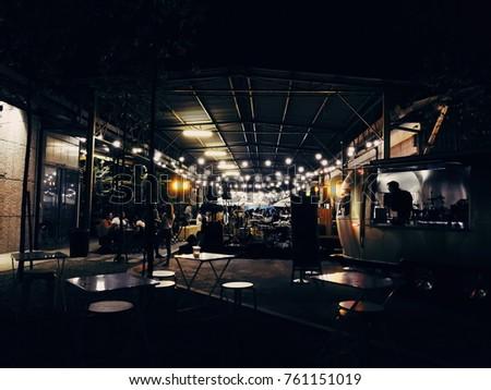 BANGSAR, KUALA LUMPUR - 21 OCTOBER 2017: People having dinner at riuh - Shutterstock ID 761151019