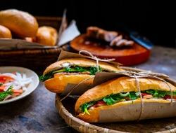 Banh mi - Vietnamese sandwich - Vietnamese food