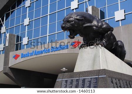 Bank of America Stadium Charlotte North Carolina Panthers