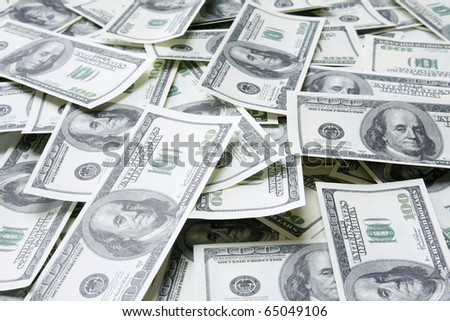 Banknotes. Can be used as a background.