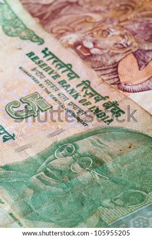 Banknotes - Rupees bills of India