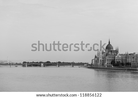Banks of the Danube in Budapest, Hungary