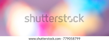 Banner - bokeh und blurred soft color and lights