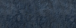 banner dark blue concrete uneven cracked background. fits background for text or calligraphy. stone texture