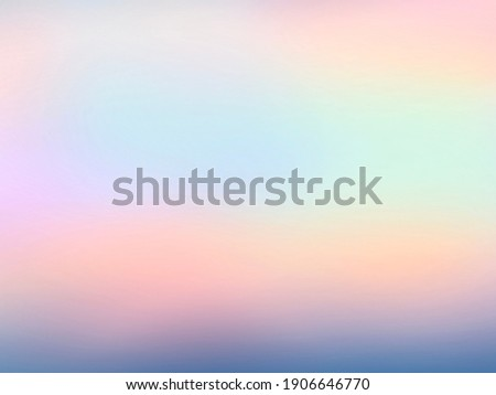 Banner glare abstract texture. Blur pastel color  background. Ombre style. Cute unicorn blur concept for backdrop, valentine, summer, birthday Foto stock ©