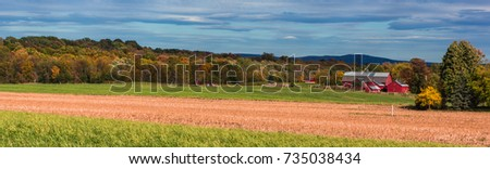 banner of landscape of farm on Grand Isle, one of the Lake Champlain Islands in Vermont\n