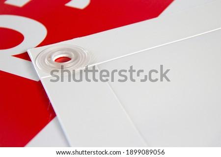 banner printed in digital printing Сток-фото ©