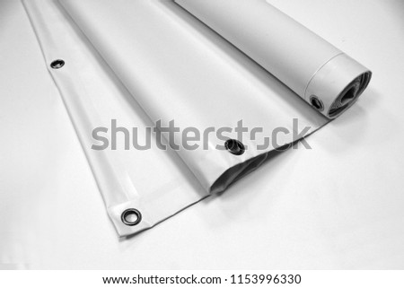 Banner PVC Isolate Concept Mock Up #1153996330