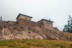 Banos del Inca older Inca ruins and archeological site,  El Tambo, Ecuador