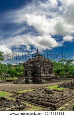Banyunibo Temple. This temple is one of the Buddhist temples, which is located in Cepit, bokoharjo, Prambanan, Yogyakarta.
