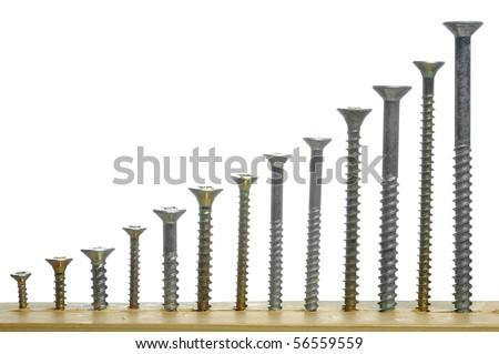 wood screw sizing chart