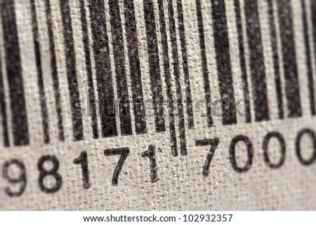 bar code on egg packaging