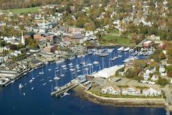 Bar Harbor in autumn, Maine