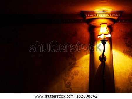 Bar interior lamp