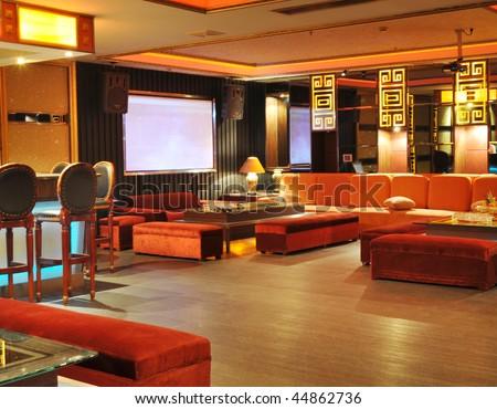 Bar room, - stock photo