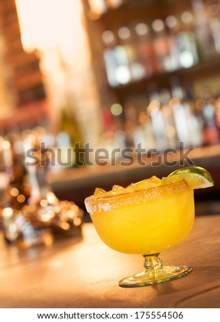 Bar with Margarita, Alcohol, Mixed Drink Cocktail Happy Hour
