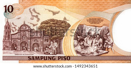 Philippines money background , Philippines peso  Images and