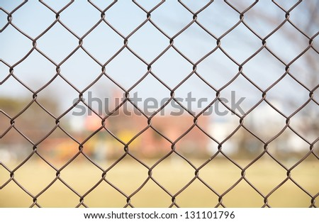 Barb wire fence #131101796