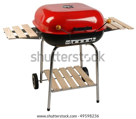 Barbecue grill. Isolated