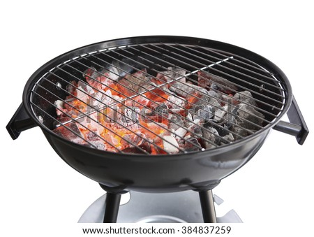 Barbecue grill on white background Сток-фото ©