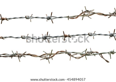 Barbed Wire #454894057