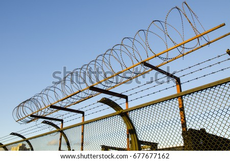 Barbed Wire #677677162