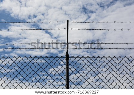 Barbed Wire #716369227