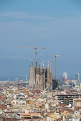 barcelona and the sagrada familia