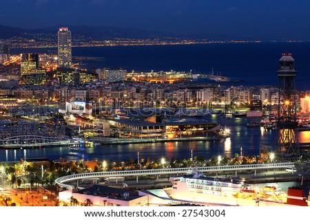 Barcelona City - stock photo