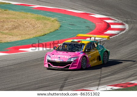 Team Racing Auto Circuit on Barcelona   October 9  Enrico Bettera Of Oregon Team Racing At Renault