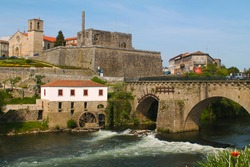 Barcelos' Historical Center, Portugal: city of Barcelos in the North of Portugal
