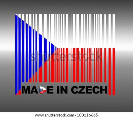 Barcode Czech Republic.