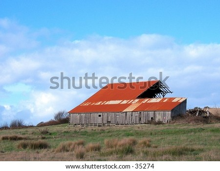 Barn in Humboldt County, CA