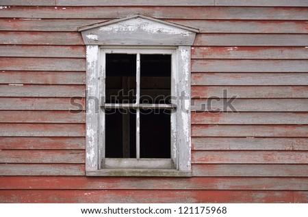 barn or house window