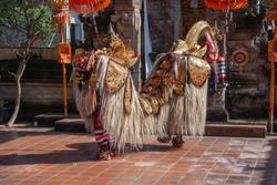 Barong and Kris dance, Bali, Indonesia.
