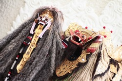 Barong and Rangda, two symbols in Bali represent Good (Barong) and Bad (Rangda). They are mostly perform in every Barong Dance in Bali.