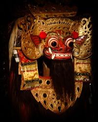 Barong, Bali's Mythical Creature Traditional mask