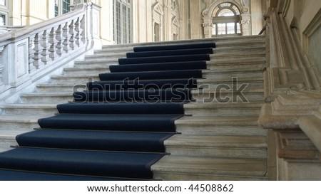 Baroque interior of Palazzo Madama, Piazza Castello, Turin (Torino) #44508862