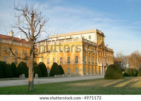 Baroque mansion with pleasure garden