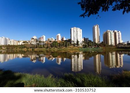 Barragem Santa Lucia, city of Belo Horizonte, capital of Minas Gerais state, Brazil #310533752