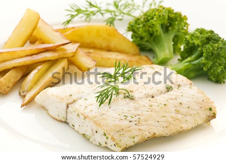 Barramundi Fillet with Chips
