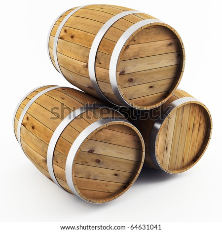barrel - stock photo