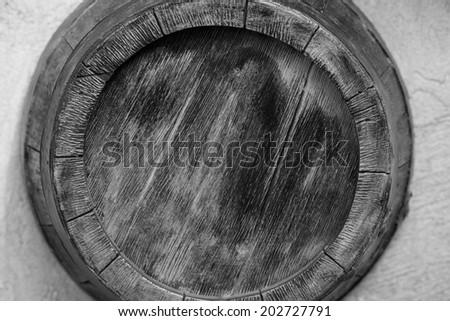 barrel  Barrel as an element of decor